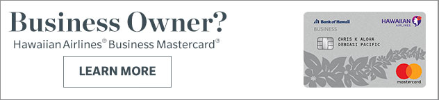 Learn more about the Hawaiian Business Mastercard
