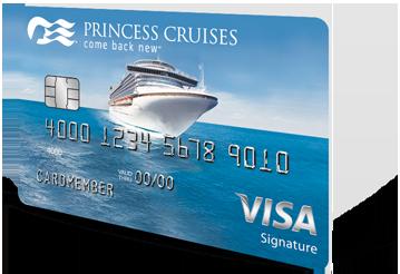 Image of the Princess Cruises Rewards Visa Card