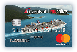 CARNIVAL FUNPOINTS CARD image